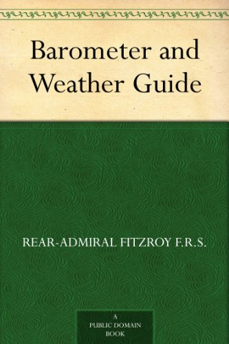 Barometer and Weather Guide (Admiral Barometer)