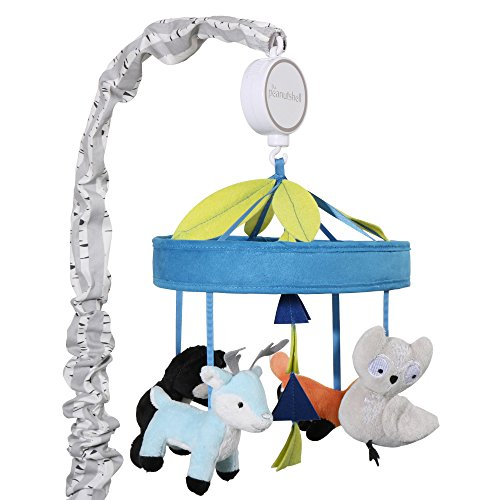 Woodland Dreams Musical Crib Mobile by The Peanut Shell by The Peanut Shell