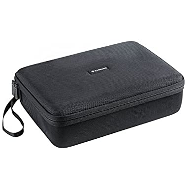 Caseling Extra Large Hard Case (2 Row) for C. A. H. Card Game. Fits the Main Game, All 6 Expansions Plus. Includes 6 Moveable Dividers. Fits up to 1650 Cards. - Card Game Sold Separately. - Black
