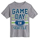 Air Waves Seattle Football- Novelty Youth Short Sleeve Tee Shirt