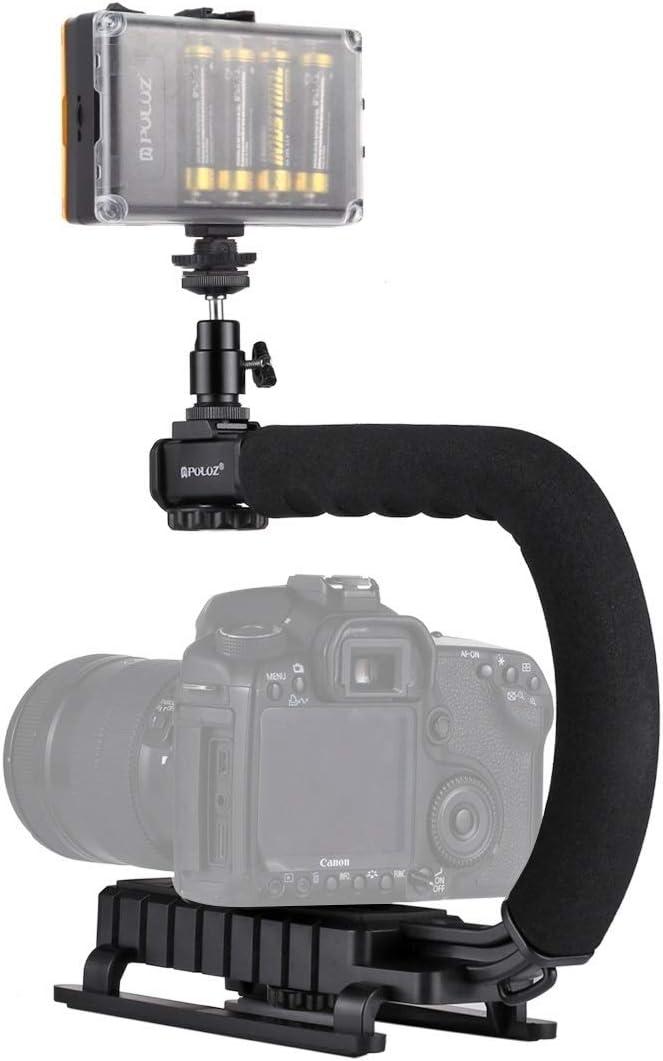 Color : Color1 WEIHONG Stabilizer U//C Shape Portable Handheld DV Bracket Stabilizer for All SLR Cameras and Home DV Camera WEIHONG