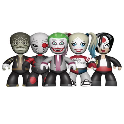 Suicide Squad Movie Mini Mez-Itz Figure 5-Pack