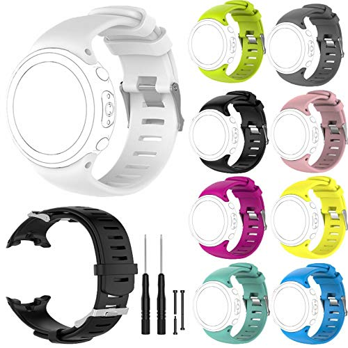 FidgetGear Replacement Silicone Watch Strap Band D4 D4i Novo Wrist Dive Computer