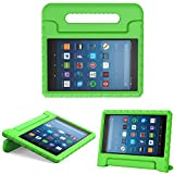 MoKo Case for All-New Fire HD 8 2016/2017/2018 - Kids Shock Proof Convertible Handle Light Weight Super Protective Stand Cover for Amazon Fire HD 8 (6th/7th/8th