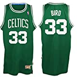 img - for 33 Larry Bird Boston Celtics Mens Road Swingman Jersey Kelly Green color Size S book / textbook / text book