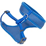 Coastal Pet Comfort Soft Adjustable Cat Mesh Harness, Blue, 14' to 16' Girth Size (1-Unit)