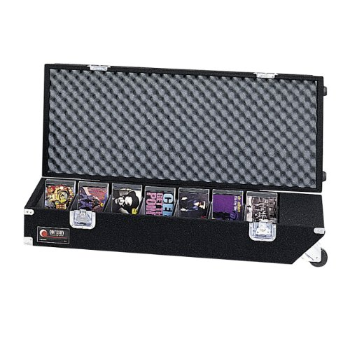 Odyssey CCD320PW Carpeted Cd Case With Recessed Hardware For 320 Jewel Cases