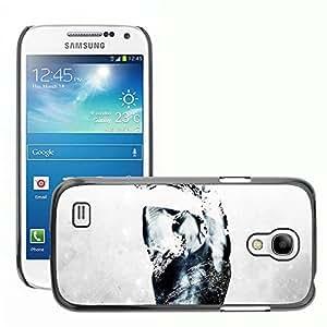 Hot Style Cell Phone PC Hard Case Cover // M00044216 digital splatter dark art grunge // Samsung Galaxy S4 Mini i9190