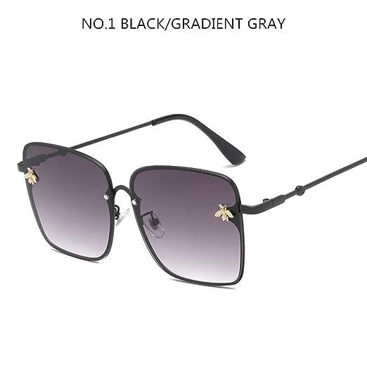 NNSYJ Gafas de Sol Gafas de Sol cuadradas de Gran tamaño ...