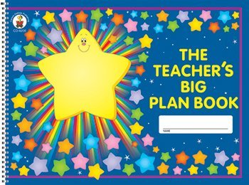 5 Pack CARSON DELLOSA THE TEACHERS BIG PLAN BOOK