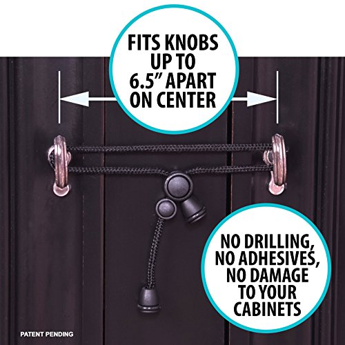 No Drill Kitchen Cabinet Knobs