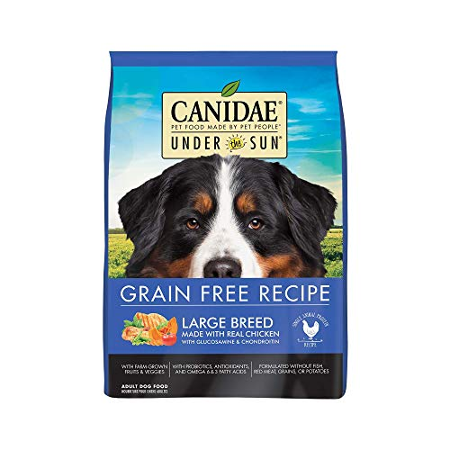 CANIDAE Under The Sun Grain Free Large Breed Adult Dog Food With Chicken 25lbs