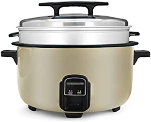 Electric Rice Cooker, Commercial, 8L-15L Large Capacity, Automatic Insulation, Multi-function, With Steamer, Suitable For Hotels, Canteens, School, Restaurant For 8-30 People (Size : 13L-2000W)