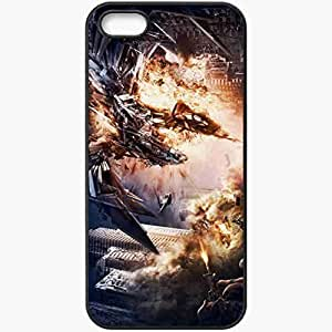 taoyix diy Personalized iPhone 5 5S Cell phone Case/Cover Skin Tropico 4 Black