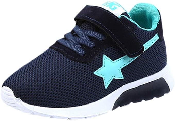Zapatos para niños Sneaker Boots Lace Up Kids Bebé Casual Shoes Niños niños y niñas británicos Botas Zapatos de tendón Mantener Caliente Zapatos de otoño e Invierno: Amazon.es: Ropa y accesorios
