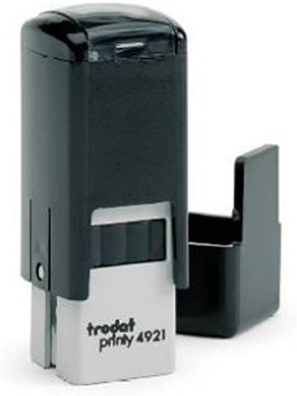 Custom Trodat Printy 4921 Self-Inking Rubber Stamp .5mm Square Lipstick siz