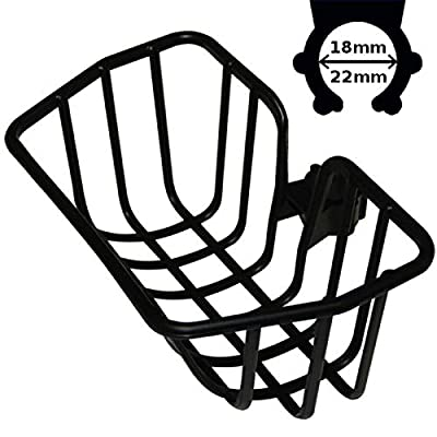 cyclingcolors Universal Black Basket Kid Girl BOY Bike Plastic Bag Rack Front Clip Hook 18-22mm PUKY : Sports & Outdoors
