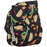 Smart Bottoms Smart ONE 3.1 Organic All-in-one Cloth Diaper (Tuesday Adventure)
