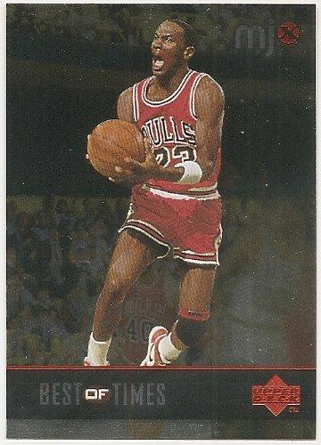 Michael Jordan 1998 Upper Deck MJx Best Of Times Chicago Bulls Card #131