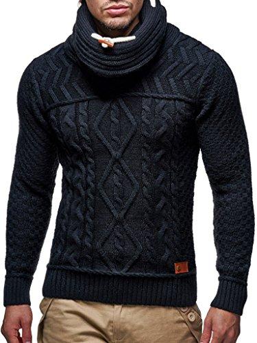 En Pour Ln7025n Hoodie Pullover Des Leif Hommes vous Col Arrêtez Tricot Pull Nelson Sweatshirt Schwarz Châle ATfwYxqg