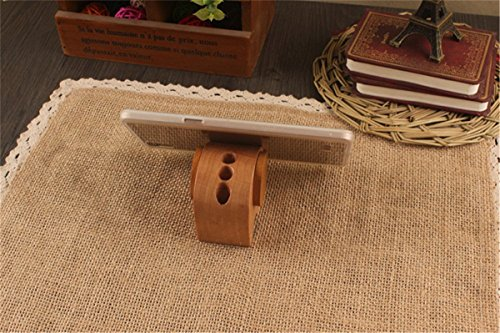 APSOONSELL Wood Elephant Phone Holder & Cute Desktop Card, Note Pad, Pencil Organizer by APSOONSELL (Image #3)