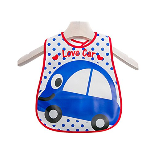 Lovely Cartoon Design Baby Bib Best Home/Travel Bib, used for sale  Delivered anywhere in USA