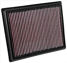 K&N 33-3035 Filtro de Aire Coche, Lavable y Reutilizable