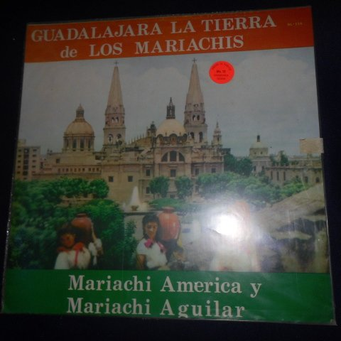 Guadalajara La Tierra De Los Mariachis Con El Mariachi America Y El Mariachi Aguilar (Bl - Vinyl)