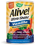 Best Protein Vitamins - Nature's Way Alive! Soy Protein Shake Vanilla Review