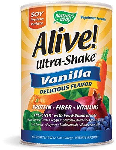 Nature's Way Alive! Soy Protein Shake Vanilla - Alive Multivitamin Ultra Shake