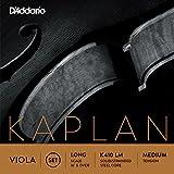 D'Addario Kaplan Viola String Set, Long Scale, Medium Tension