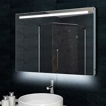 Lux Aqua Design Badezimmerspiegel Wandspiegel Mit 770 Lumen Alu