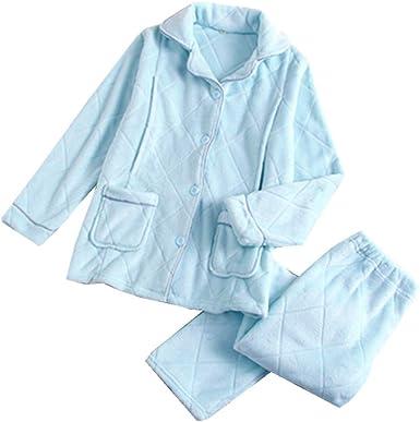 Las Mujeres de la Franela de Enfermería Caliente Pijamas Ropa ...