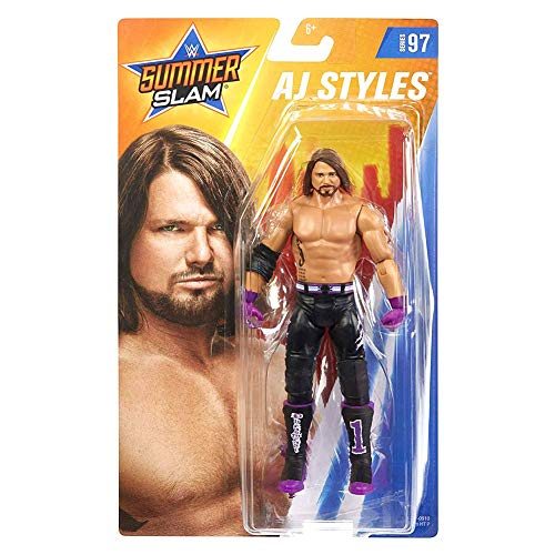 WWE SummerSlam AJ Styles Action