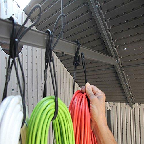 Bungee Cord Garage Organizer Storage Tool Stocking