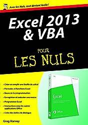 Excel 2013 et VBA Mégapoche Pour les Nuls