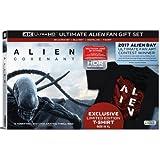 Alien: Covenant (Ultimate Alien Fan Gift Set) (4K Ultra HD + Blu-ray + Digital HD + T-Shirt) (Limited Edition) [4K Blu-ray]