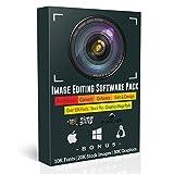 GIMP 2.8 Image Editing Software Bundle for Windows 10 - XP, Mac OS, & Linux | Best Photo Editor Photoshop Lightroom Compatible Alternative w/ Inkscape, Image Converter Software, & 60K Bonuses