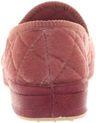 Foamtreads Saffier Slipper, Stoffig Rose Velours, 6.5 M Ons