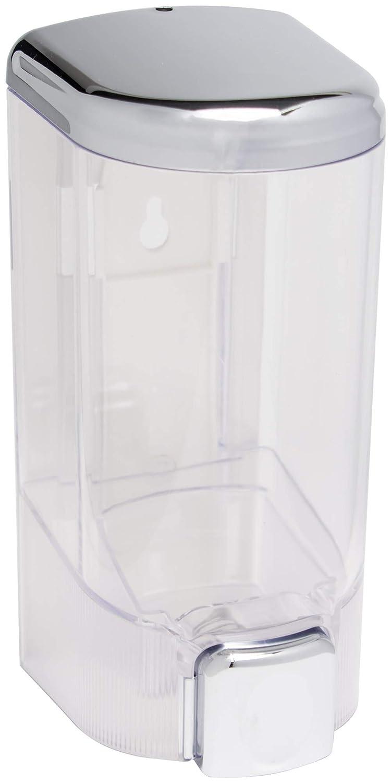 Recargable de cromo dispensador de Gel de ducha jabón terminado 900 ml (ahora con tapa): Amazon.es: Hogar