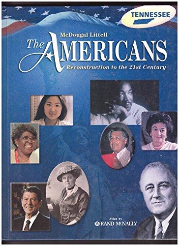 Mc Dougal Littel The Americans    book by Gerald A  Danzer