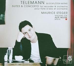 Telemann: Suites & Concerto for Recorder