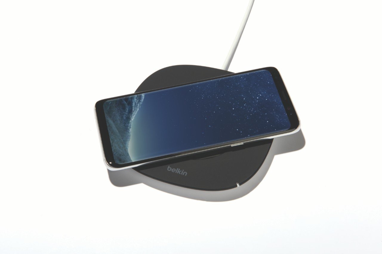 Belkin Boost up Qi (5 W) Wireless Charger iPhone X, iPhone 8 Plus, iPhone 8, Samsung Galaxy S9+/S9 Other Qi Enabled Devices (Qi-Certified Inductive Charging Pad) AC Adapter Included, Black by Belkin (Image #7)