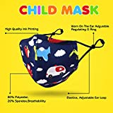 CIKIShield 6 Pack Children Cloth Face Mask for 9-14
