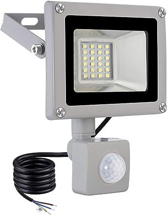 Viugreum 20W Foco LED, 2000LM Led Spotlight Para Exterior, flood ...