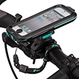 Ultimateaddons Quick Release 21-30mm Bike Mount with Waterproof Case for Apple iPhone 5 5S SE