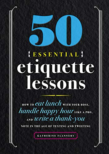 The Little Black Book of Backstage Etiquette
