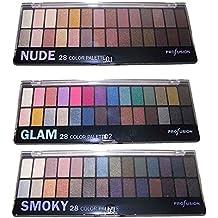 28 Colors Eyeshadow Makeup Palette Glam Smoky Cosmetics Eye Shadow (CosES