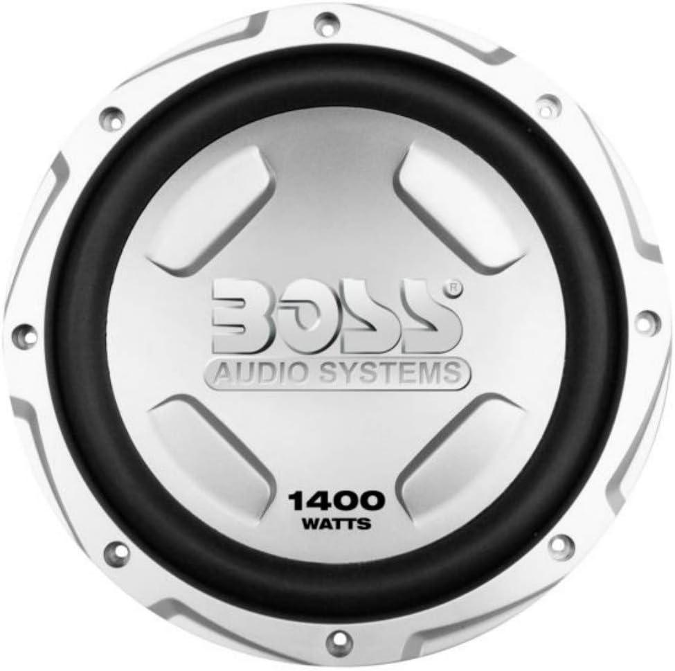 1 pi/èce 1 SUBWOOFER Compatible avec Boss Audio Systems CX122 CX 122 30,00 cm 300 mm 12 de diam/ètre Single Voice Coil 4 ohms 700 Watts rms 1400 Watts Max Auto Voiture