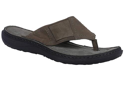 30096a89a6c Woodland Men s Olive Green Leather Sandals-7 UK India (41 EU) (OGP ...